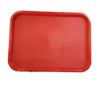Hot sale KFC 100% PP can customize the color rectangle plastic fast food plate