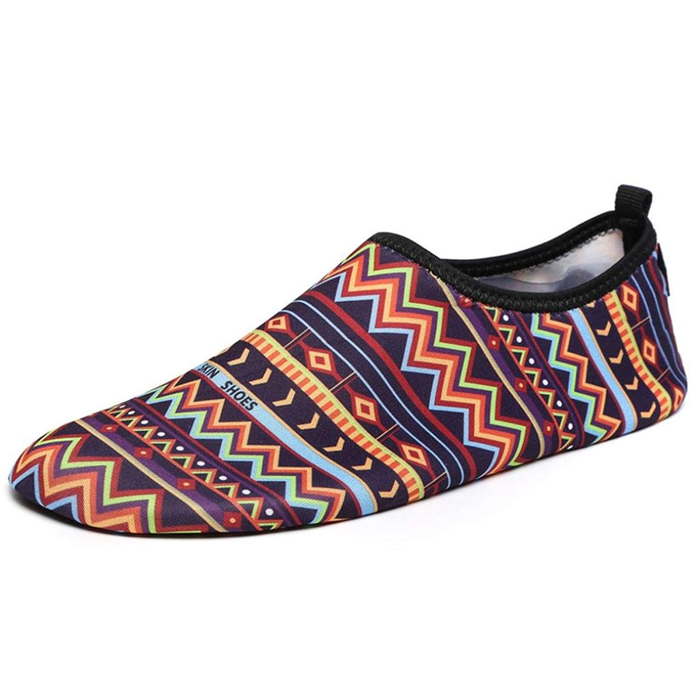 Challyhope Water Shoes, Men Women Aqua Shoes Barefoot Quick-Dry Swim Surf Shoes for Boating Walking Beach Yoga