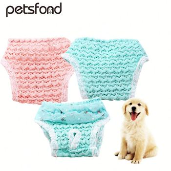 Female Pet Washable Dog Diapers Covers Up Physiological Sanitary dog Pants