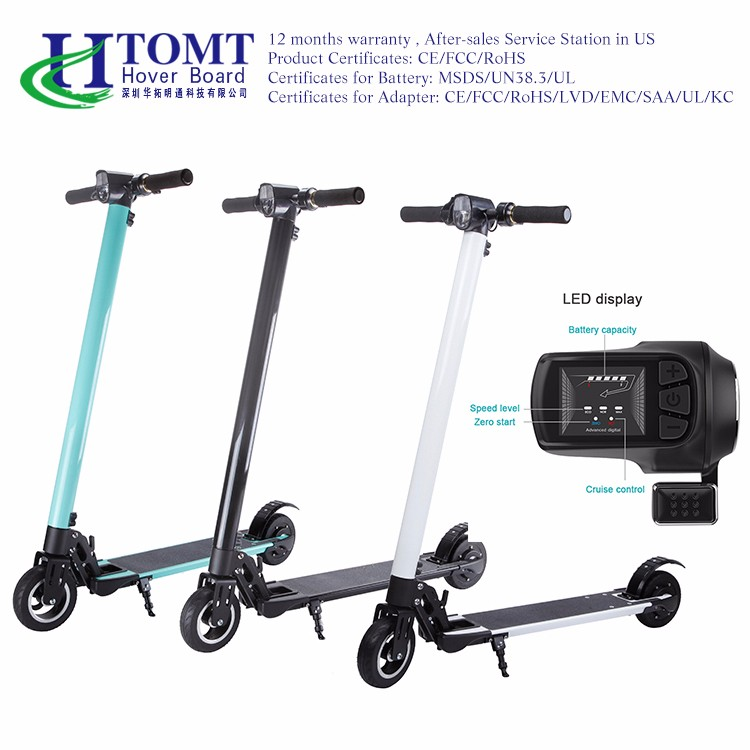 2017 best sell high quality aluminum folding scooter with cheap price