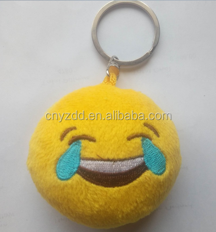 Free Sample Emoji Keychain/new Wholesale Emoji Key Chain/different ...