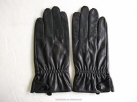Wholesale Classic Leather Gloves for Man Motorcycle Leather Glove