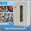 New invention factory price cost effective automatic control IKE heat pump dryer