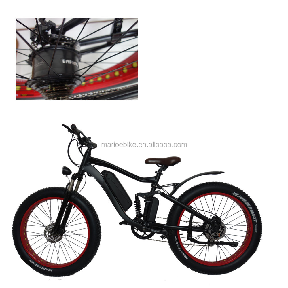 High Quality Factory Price 500w hub motor 48v 10.4ah battery electric bike spares