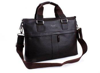 Fashion Men's Leather Laptop Bag,Computer Bag,Brand Bag,Shoulder ...