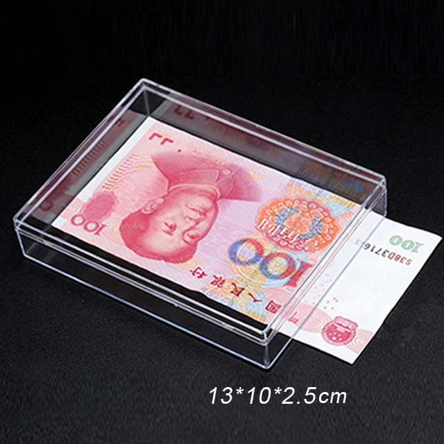 High Quality Transparent Clear PS Crystal Plastic Box
