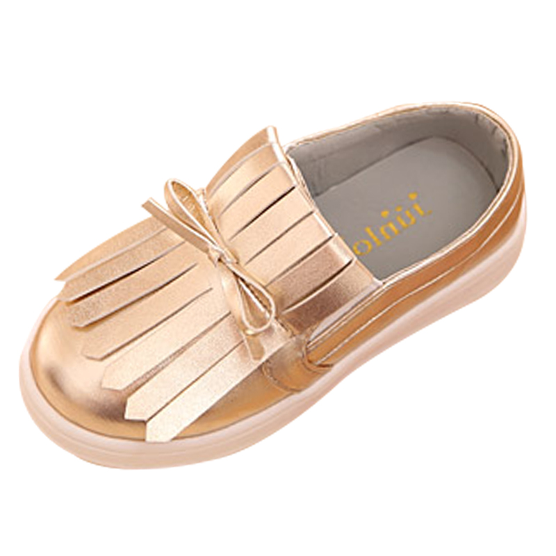 2016 spring new shoes personality tassel design fashion girls casual shoes breathable anti skid