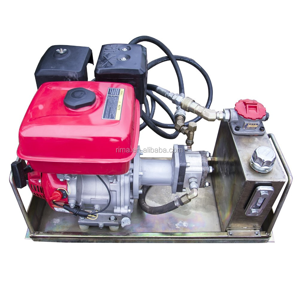Benzinemotor power unit
