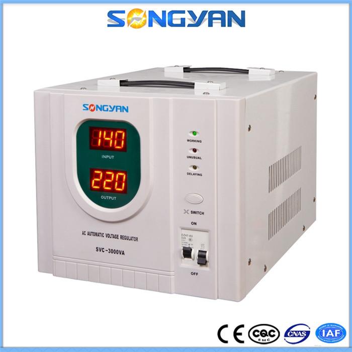 stabilizzatore di tensione 220v 3kw ac 220 volt