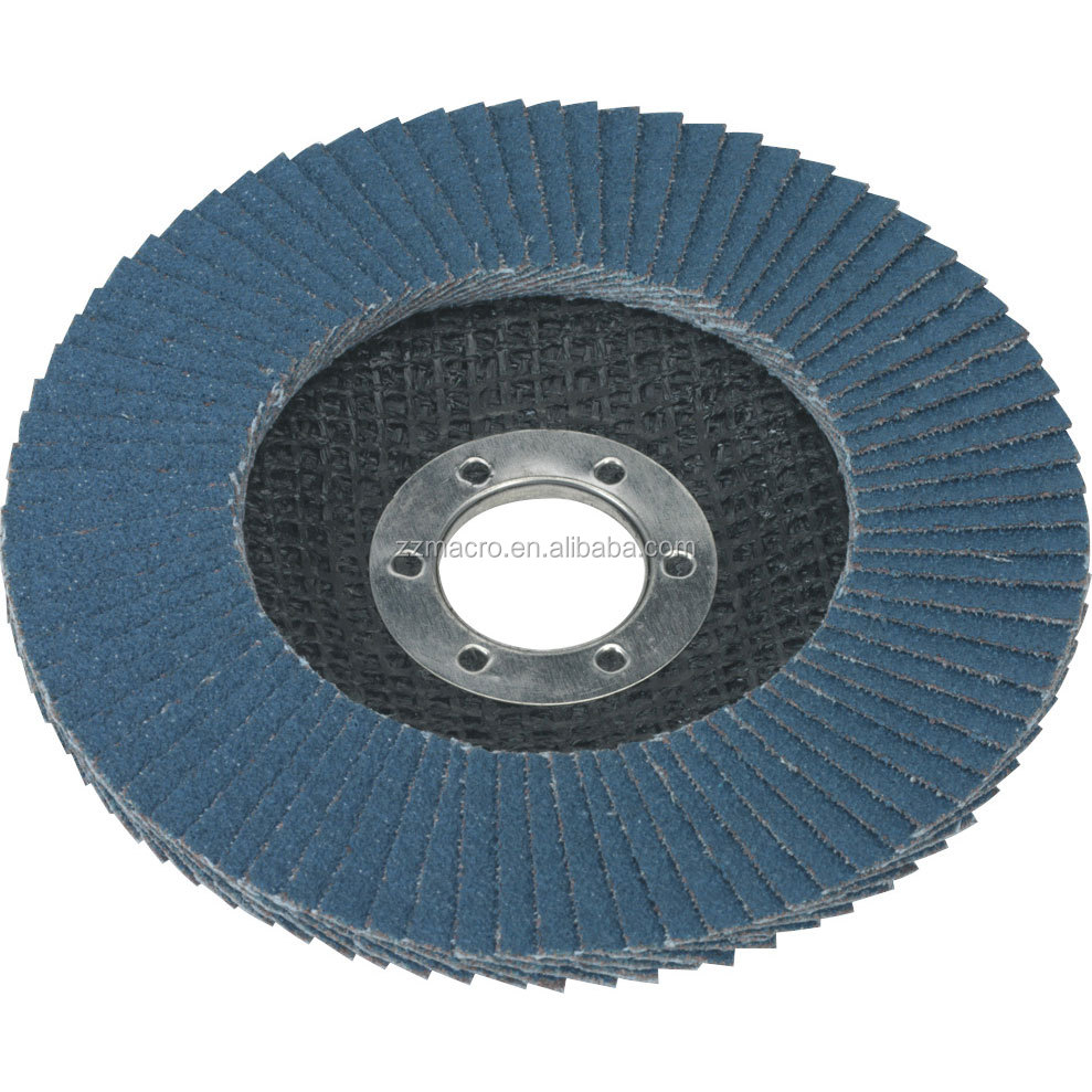 "4"" Flexible Flap Disc Made By Imported Zirconia Abrasive Cloth ..."