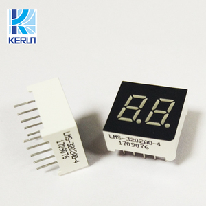Top selling Common anode white color 10 pins 0.5 inch188 small 7 segment lcd led smd display