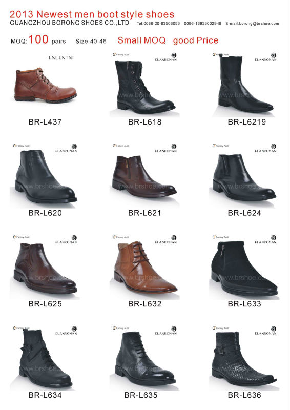2016 Newest Men Style Leather Shoe Boots Factory In China - Buy ...