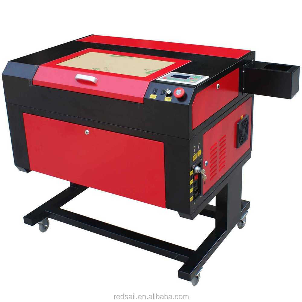 Redsail mini cnc laser cutting machine for crystal laser engraving (11''*19'')/wood pen laser engraving machine