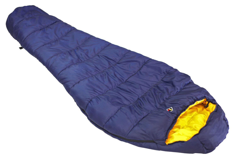 Ledge Sports Deep Creek +25 F Degree Classic Mummy Sleeping Bag (84 X 32 X 20, Blue)
