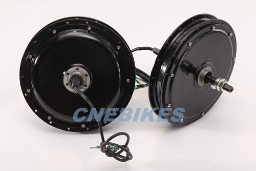 China 36v 500w brushless hub motor for electric bicycle for rear wheel