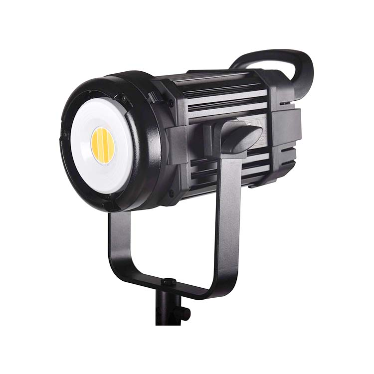 COB LED light 100W 5600k Daylight Balanced LED Continuous Video Light CRI97+ Bowens Mount Low noise