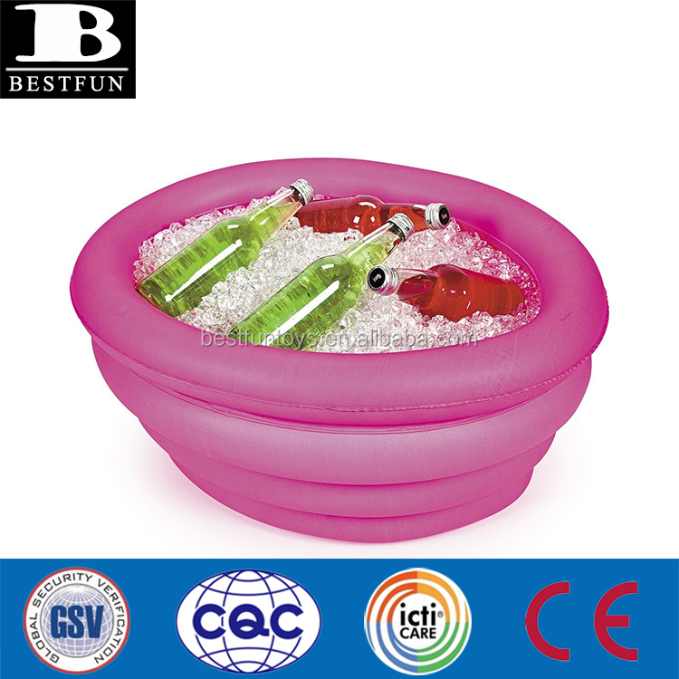 High Quality Durable Plastic Inflatable Cooler Tub Folding ...