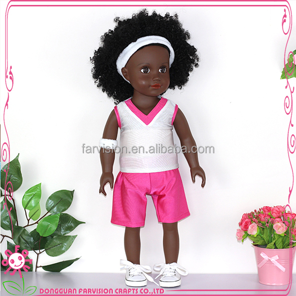 Astonishing Black Baby Doll Afro Style Human Hair Custom Doll With Real Hair Hairstyles For Men Maxibearus
