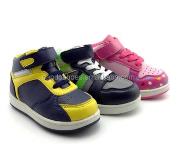 Marque Chaussures Enfants Garçons Impression Haute Coupe Chaussures Décontractées Pour Bébé Buy Chaussures De Saut Pour Enfants,Garçon Enfants