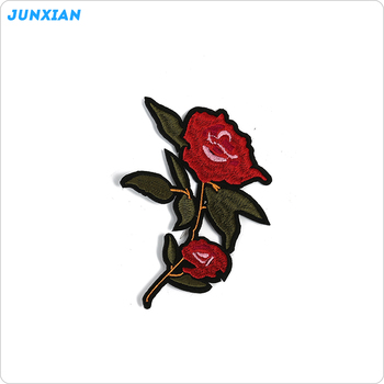 Newest Beautiful Wholesale Custom Design Small Flower Embroidery