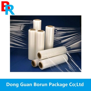 23mic pe plastic wrapping film/stretch foil/pallet film in 2018