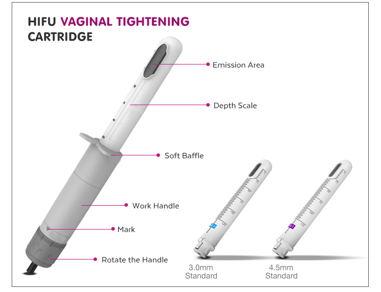 New products 2018 innovative product vaginal hifu for beauty salon