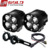 Motorcycle lights universal 40w fog lamp led motorcycle led driving fog head spotlight
