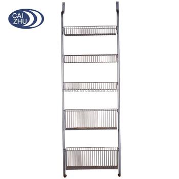 Remarkable Newest Over Door Storage Basket Rack Shelves Organizer Buy Storage Basket Storage Rack Shelves Storage Organizer Product On Alibaba Com Interior Design Ideas Gresisoteloinfo