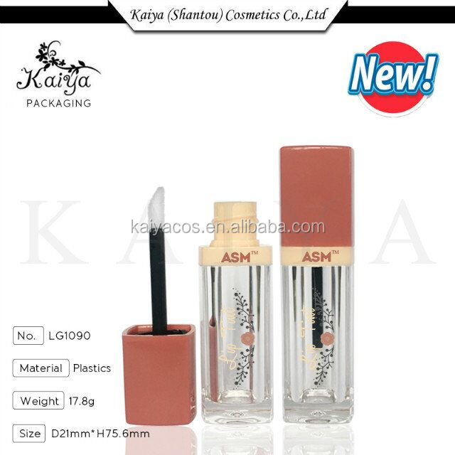 2017 Kaiya Cosmetic Package Factory Bourjoi Style Custom Empty Lip Gloss Containers