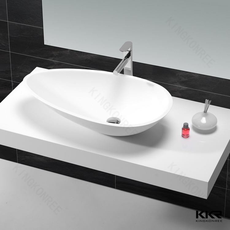 Egg Shaped Basin Bathroom Countertop Product On Alibaba