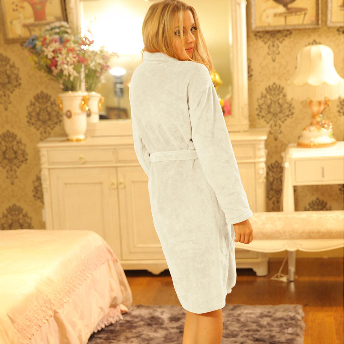 women men warm bathrobea dressing gown bath robes winter bathrobea dressing  gown women `s bathrobes. Shipment Normally 259b33366