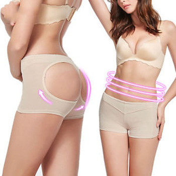 fa5f51c5973f6 Women Butt Lifter Shaper Control Panties Sexy Buttocks Enhancer Panty  Boyshort Tummy Undies Bottom SHAPEWEAR Plus