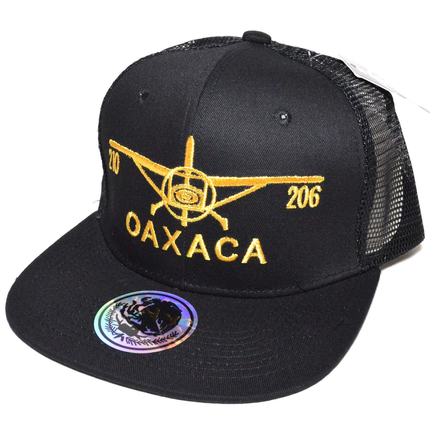 e73cd75de5309d Get Quotations · Mexico City Embroidered #04 Snapback Flat Visor Trucker  Style Cap Baseball Hat