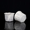 White Paper Disposable keurig k cup filter with SGS test report