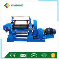 rubber and plastic Open Type mixing mill
