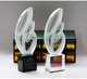 Customizable creative single wing crystal plaque glass craft trophy award