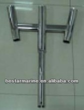 stainless steel fishing rod holder/outrigger rod holder