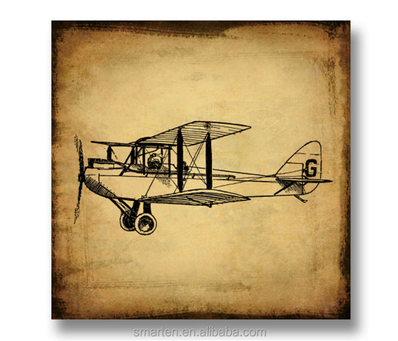Art Craft Vintage Airplane Wooden Wall Plaques - Buy Wooden Wall ...