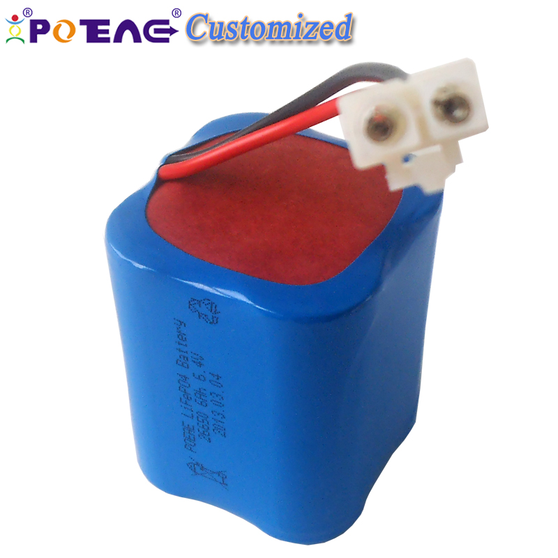2017 new type 4 cell li-ion 6.4V 6000mAh li ion battery with electric wires