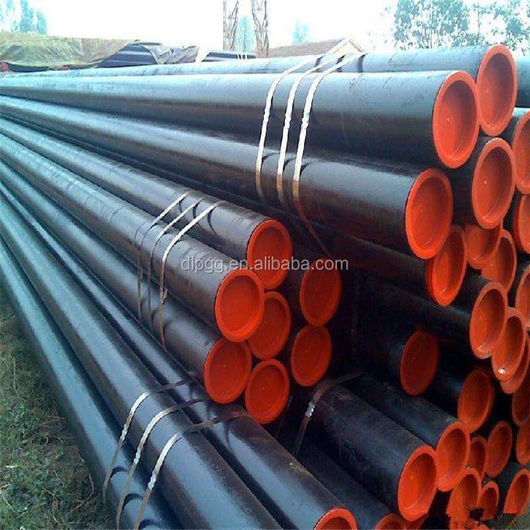 API ASTM Epoxy paint finish 3pe anticorrosive steel pipe in gas oil pipeline