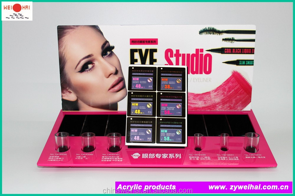 Pink Acrylic Stand Eyeliner Pencil