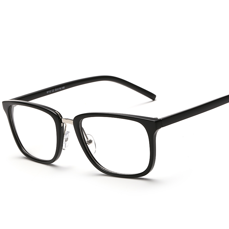 2017 nuevos anteojos hombres mujeres cuadrado marcos de gafas de ...