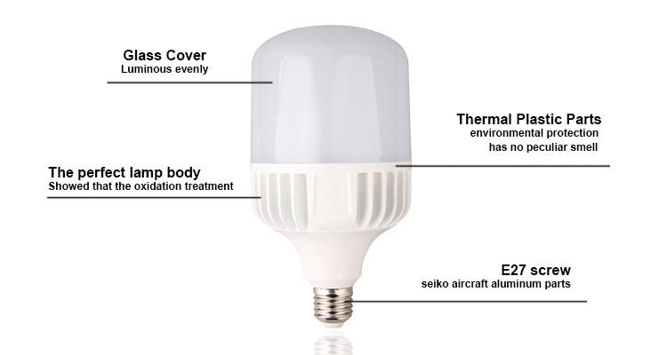 High Power E27 Led Bulb Smd 2835 20w 30w 45w 60w Led Lamp 45w Led ...