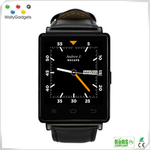 Support 2G / 3G / Wifi Bluetooth 4.0 android Dual sim 3G wear smart watch