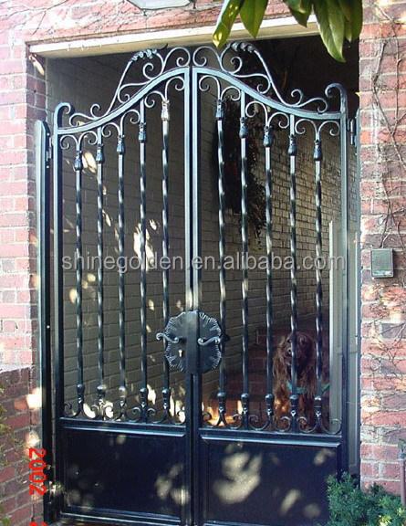hierro forjado moderna casa de jardn de hierro diseo para puertas de metal gg