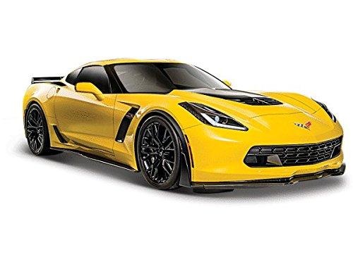 2015 Chevrolet Corvette C7 Z06 Yellow 1/24 by Maisto 31133