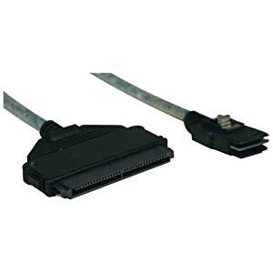 Tripp Lite S510-18N 18in Internal SAS Cable mini-SAS SFF-8087 to 32pin SFF-8484 4-in-1 18 inch - SAS internal cable - with Sidebands - 4-Lane - 36 pin 4i Mini MultiLane (M) to 32 pin 4i MultiLane (F)