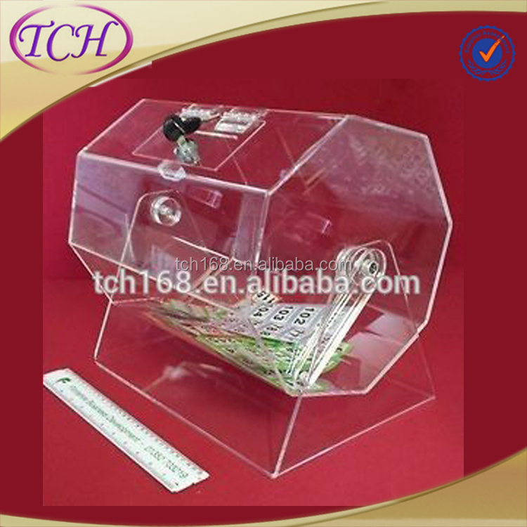 Promotional Events Acrylic Raffle Drum (12,000 tickets)