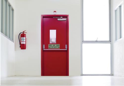 product-Zhongtai-StrongSteel MetalDouble Door Panel Fireproof Emergency Door-img-1
