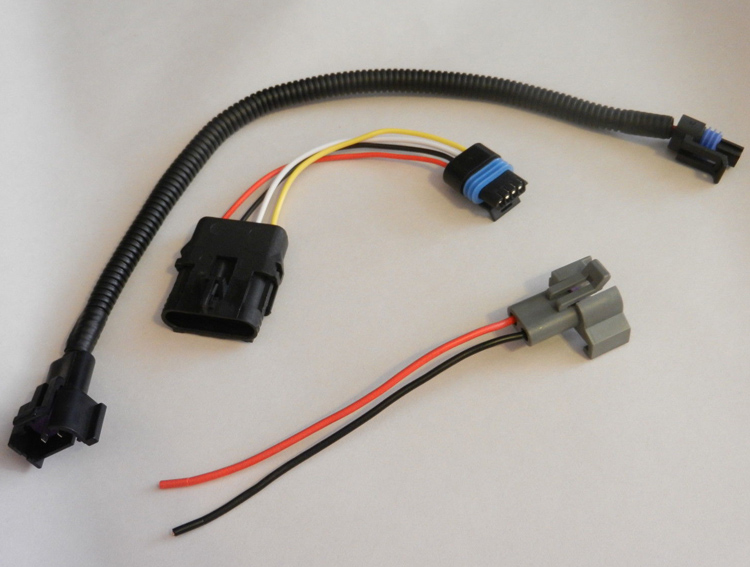 Distributor Adapter Wire Harness For Chevy Tpi Large Hei To Small Cap on